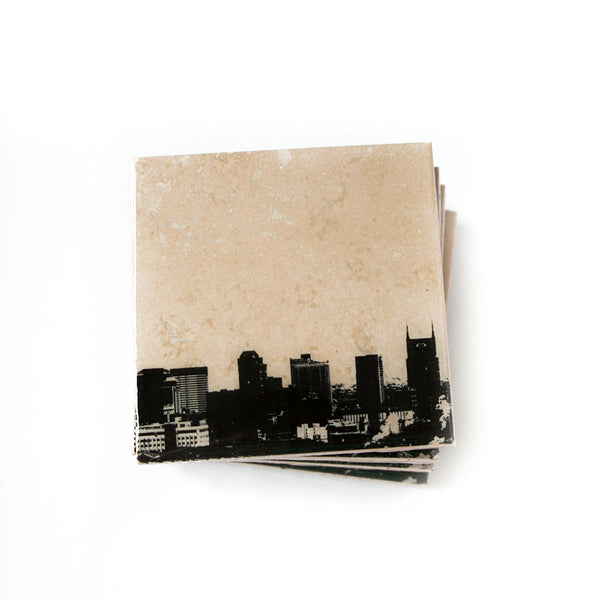 Nashville Skyline Coasters