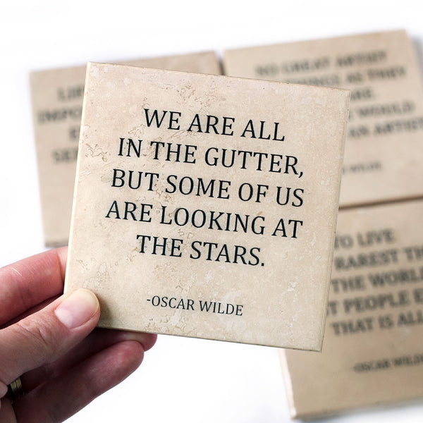 Oscar Wilde Quote Coaster