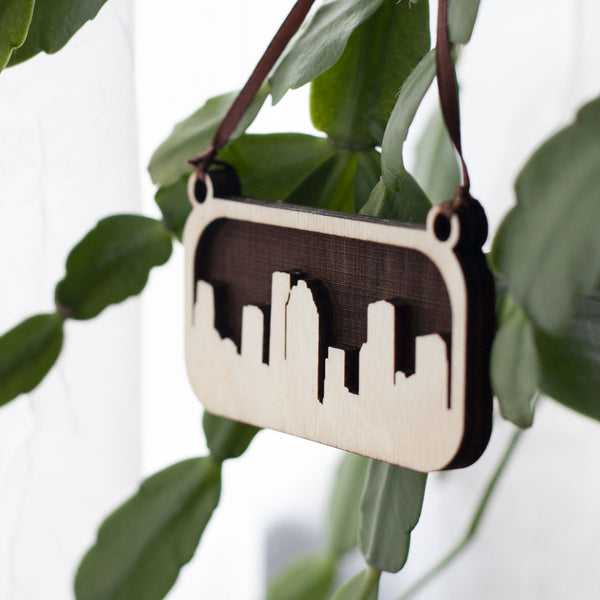 Houston Texas City Skyline Ornament