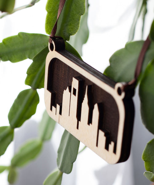 Philly Skyline Ornament