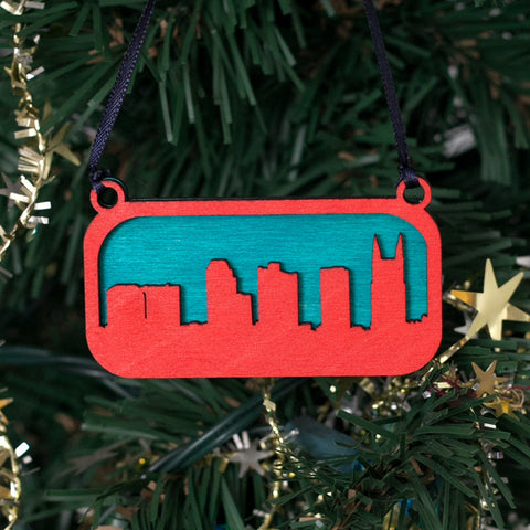 Nashville Skyline Ornament