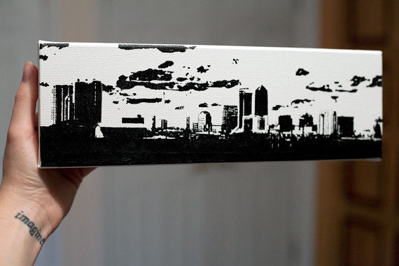 Jacksonville Skyline Screen Print