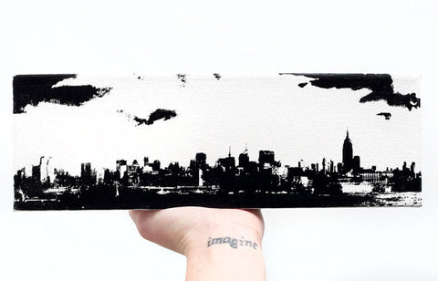 New York Skyline Canvas Wall Art