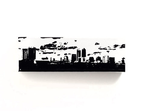 Jacksonville Skyline Canvas Wall Art
