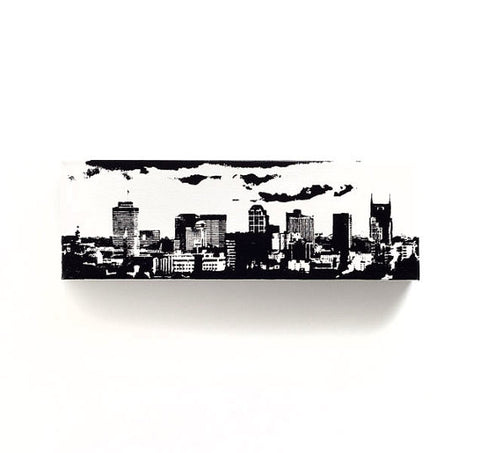 Nashville Skyline Canvas Wall Art