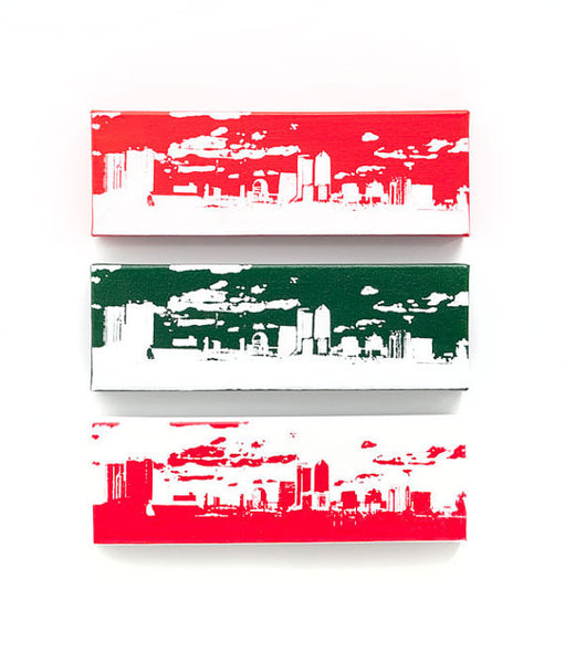 Jacksonville Skyline Home Decor