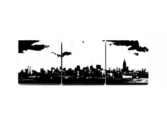 New York Skyline Large Wall Art
