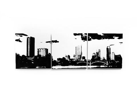 Austin Skyline Large Wall Art