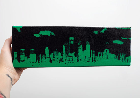 Philly Skyline Screen Print