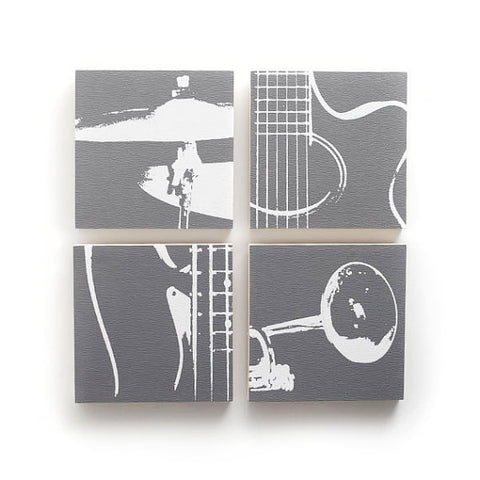 Music Wall Decor by Ink the Print