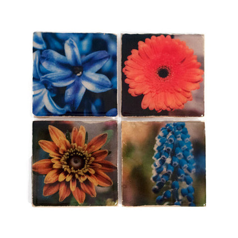 Flower Coaster Set by Ink the Print