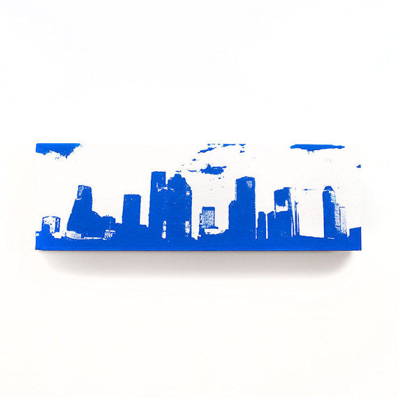 Houston Skyline Canvas Wall Art