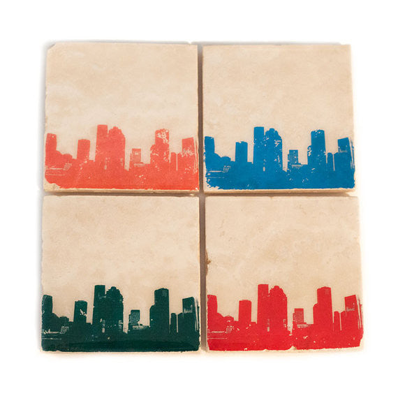 Houston Skyline Coasters
