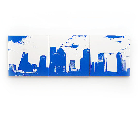 Houston Skyline Home Decor