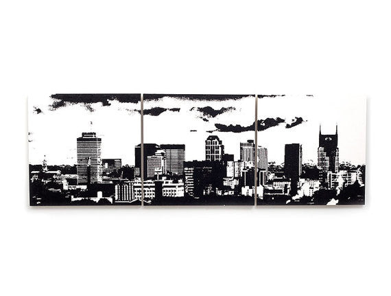 Nashville Skyline Large Wall Art