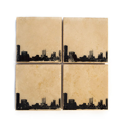 Austin Skyline Coaster Set