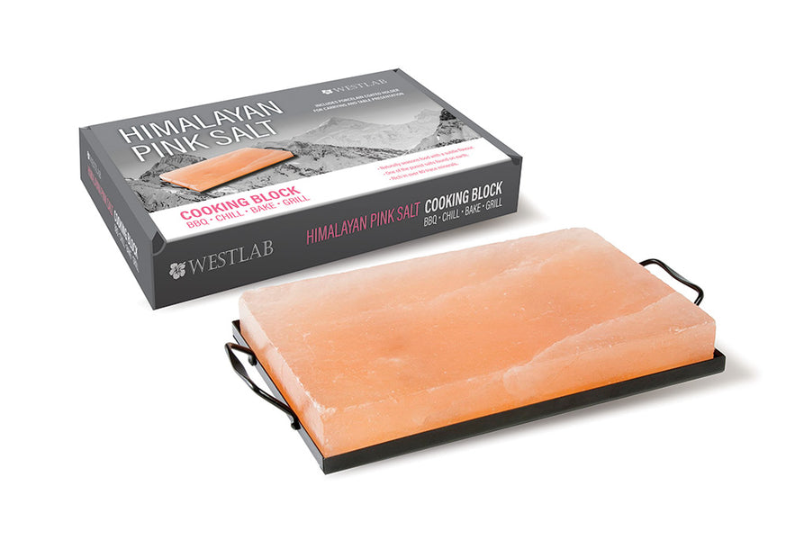 WESTLAB DEBUTS HIMALAYAN SALT COOKING BLOCK