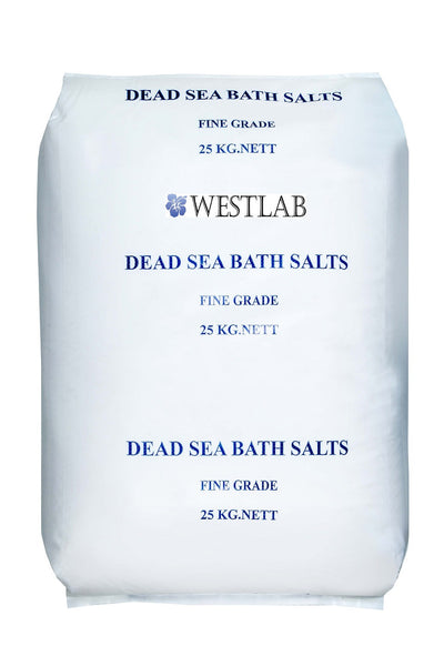 Westlab's Dead Sea Salt (Soothing for Irritated Skin)
