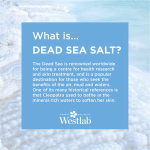 Dead Sea Soothing Supersalt - DISCONTINUED