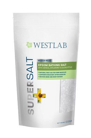 Westlab's Epsom SuperSalt with Arnica, Spearmint and Eucalyptus