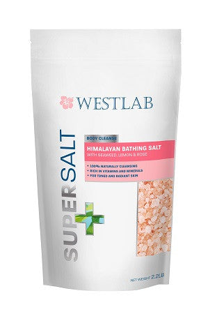 Westlab's Himalayan SuperSalt with Lemon, Rose and Seaweed