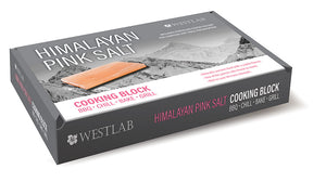 "Himalayan Salt Cooking Plate  12"" x  8"" x 1.5"" (Rectangle)"