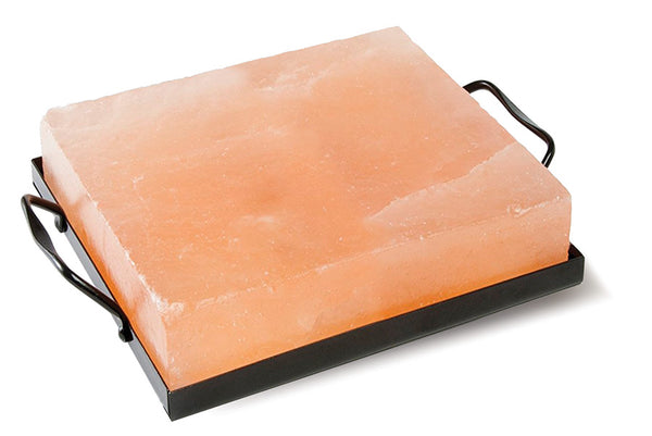 "Himalayan Salt Cooking Plate  8"" x  8"" x 2"" (Square)"