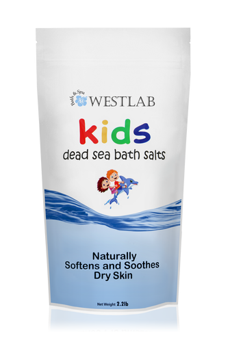 Westlab's Kids Dead Sea Bath Salts (Unscented)