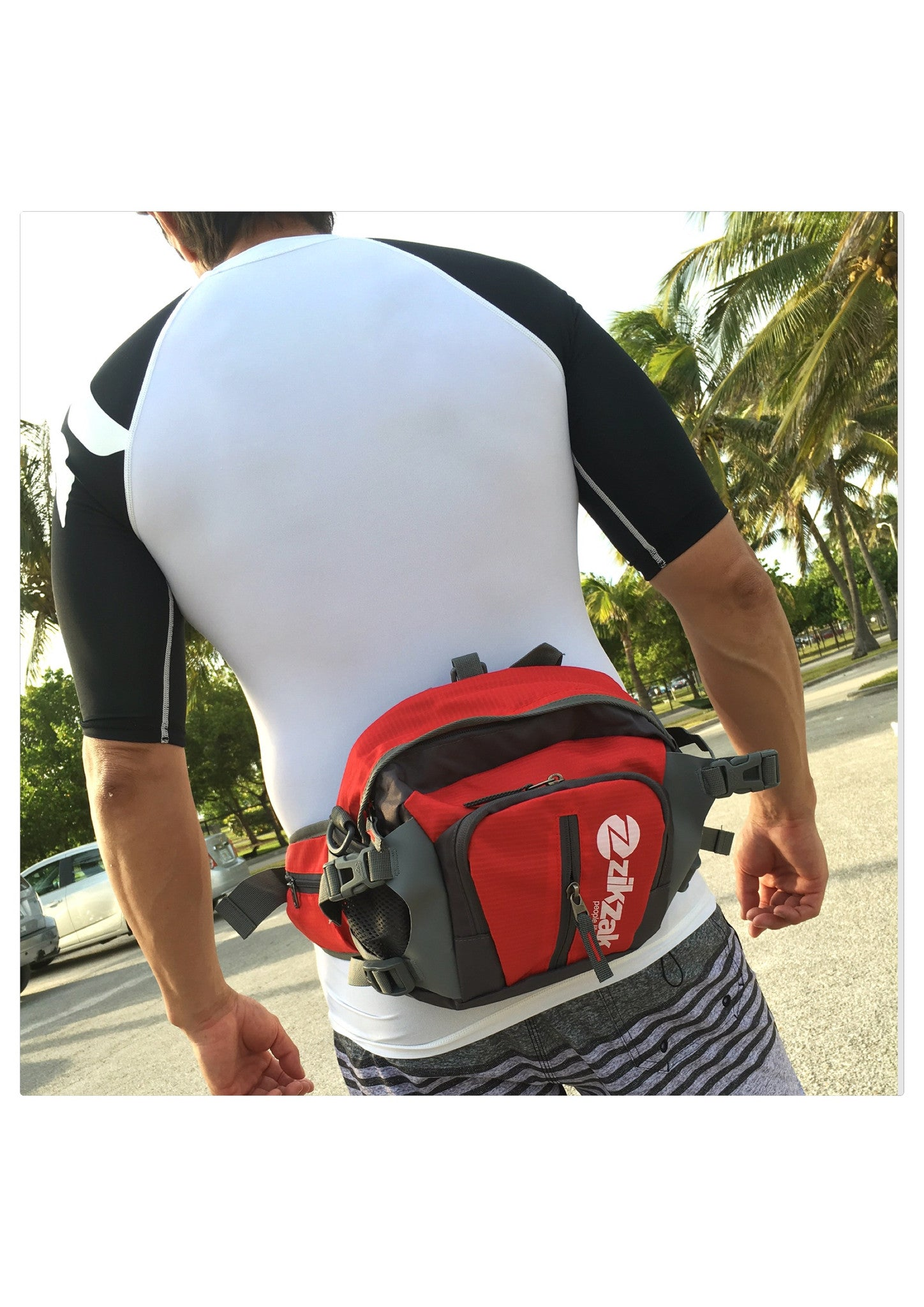 Multifunctional Waterproof Waist Pack, Sport Handbag, Shoulder Bag, Backpack, Chest Pack