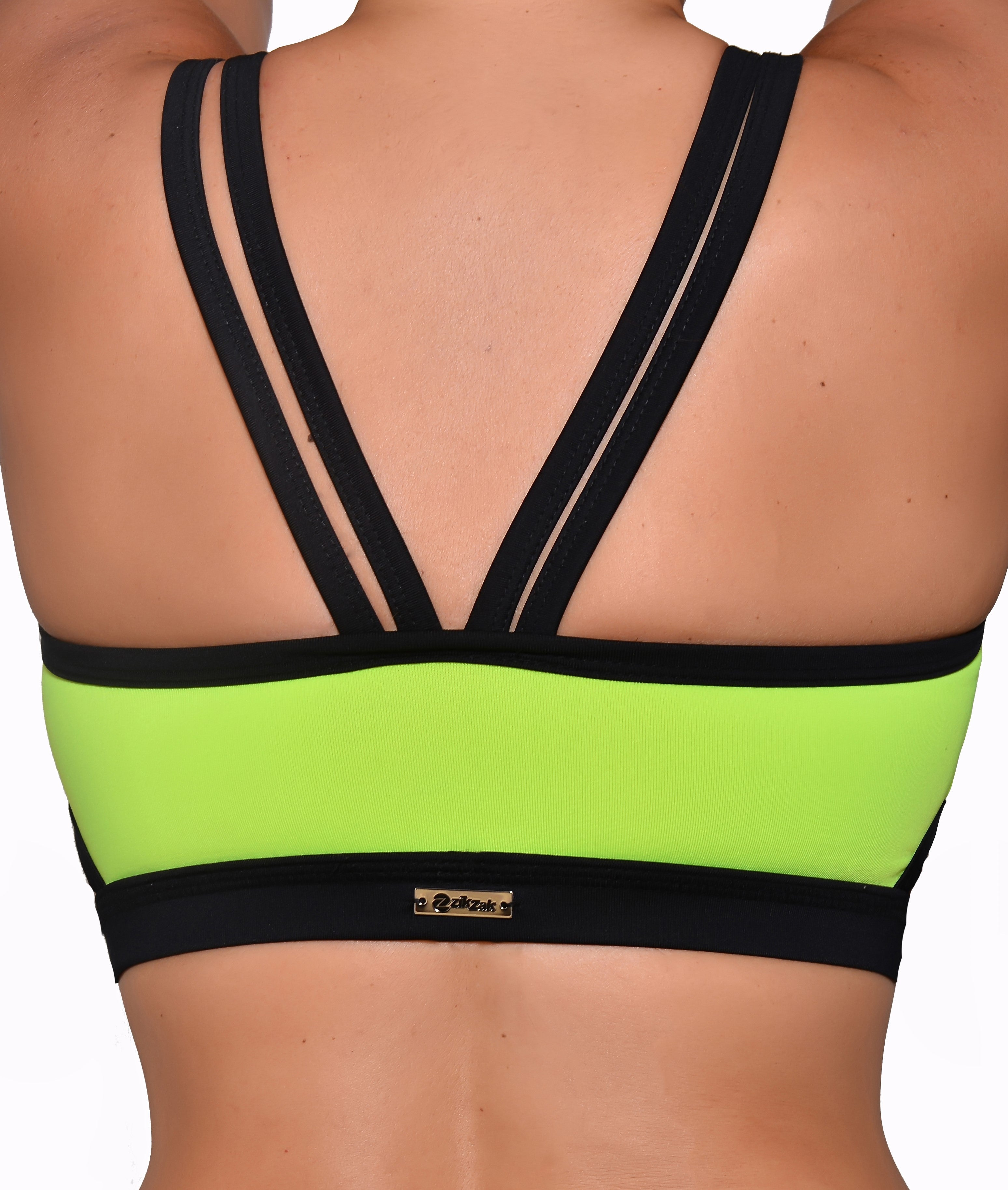 Women's Strappy Sports Yoga Bra High Impact Workout - Running