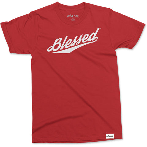 WORDFit Apparel Blessed Soft t-shirt Unisex Premium Faith Christian Brand Trendy