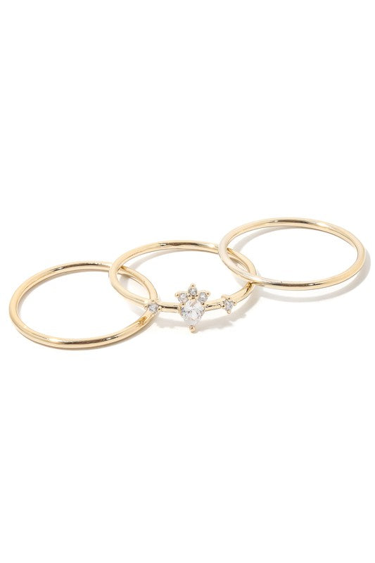 DAINTY RING SET