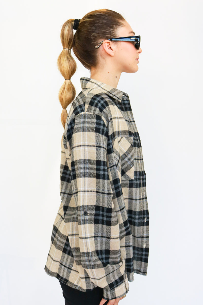 THE NEUTRAL PLAID SHIRT