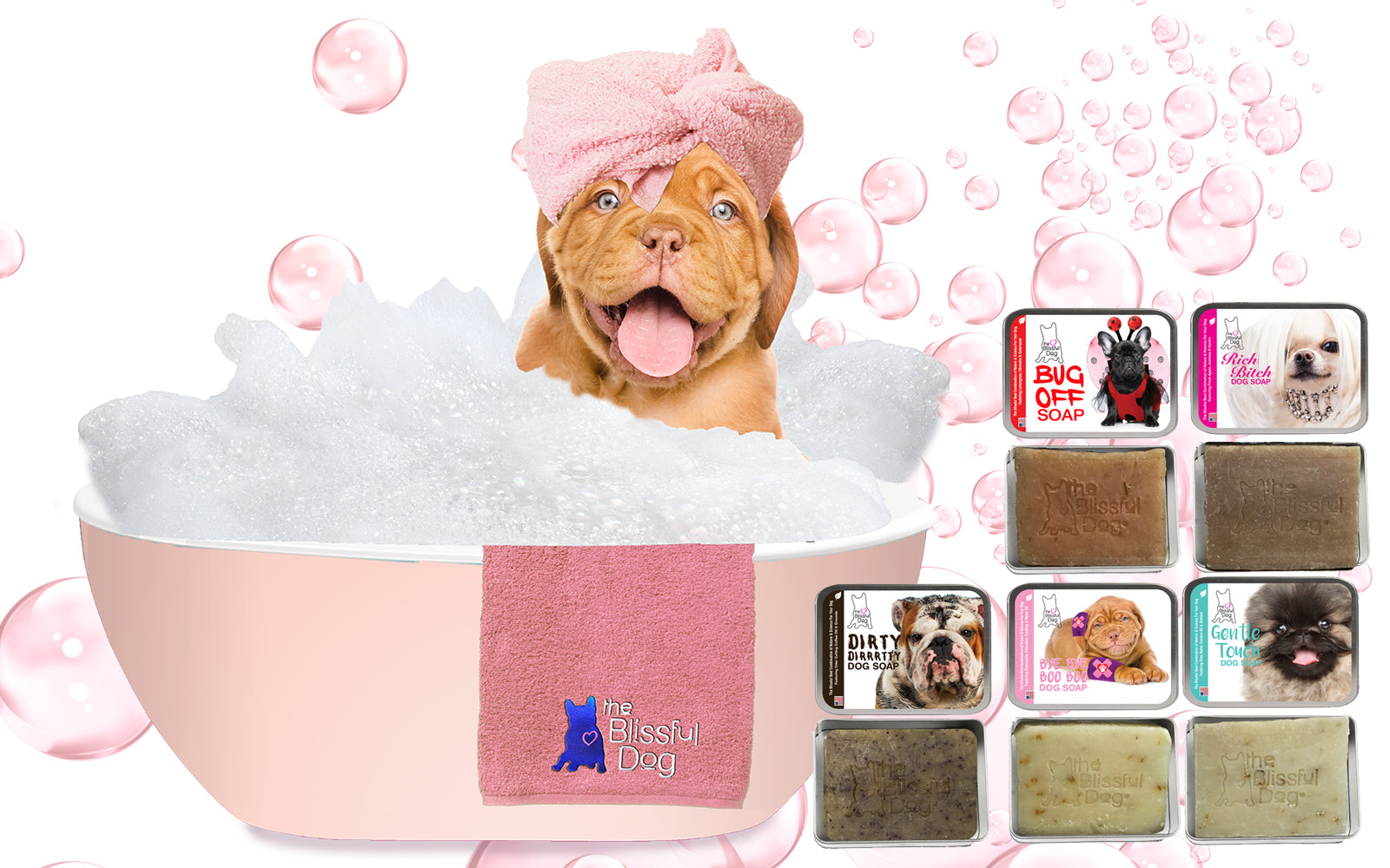 the blissful dog wholesale soap