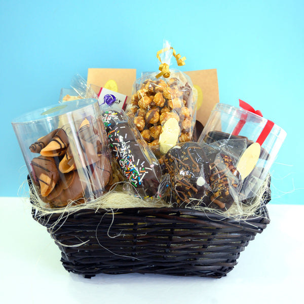 Chocolate Gift Baskets and Trays