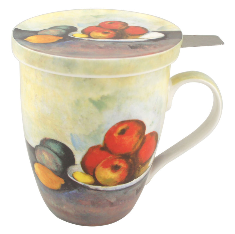 Still Life with Apples Tea Mug With Infuser