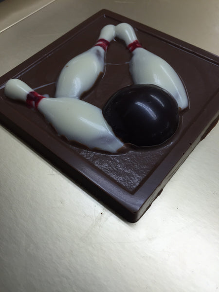 Chocolate Bowling Set