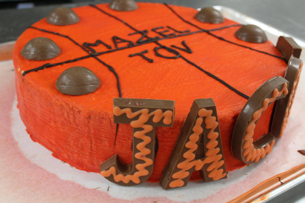 Full Basketball Smash Cake