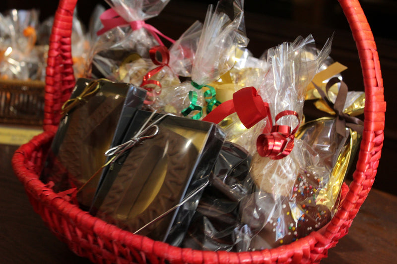 Gold Gift Basket