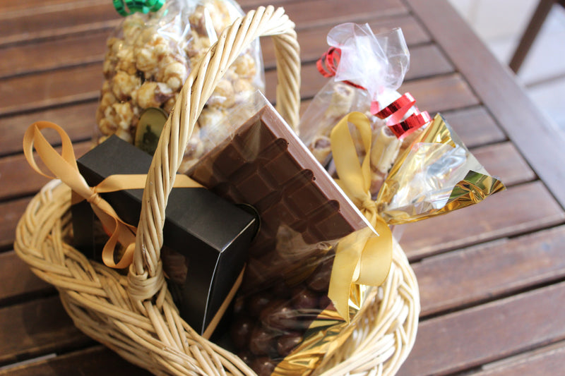 Bronze Chocolate Gift Basket
