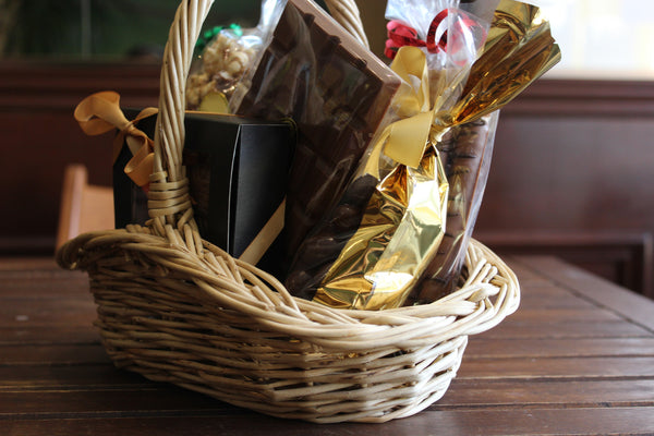 Bronze Gift Basket