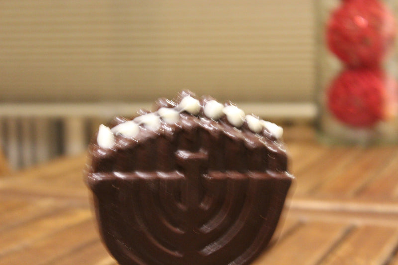 Large Menorah Chocolate