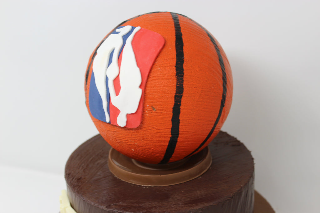 Tiered Basketball Smash Cake