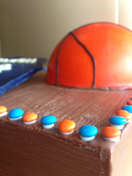 Basketball Smash Cakes