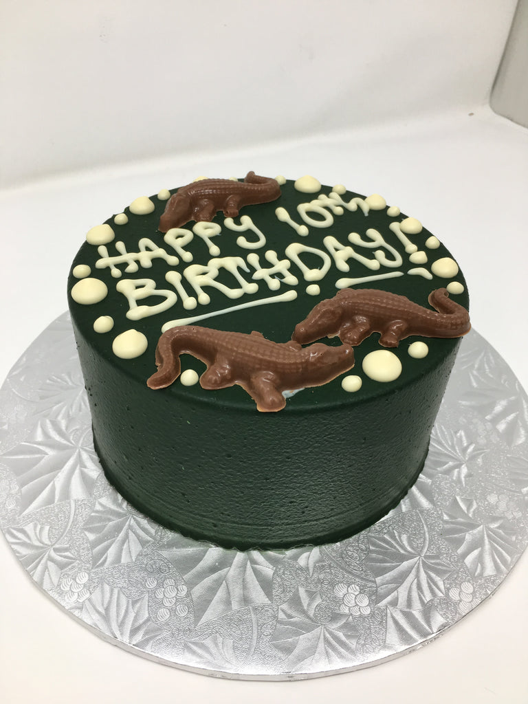 Crocodile Smash Cake