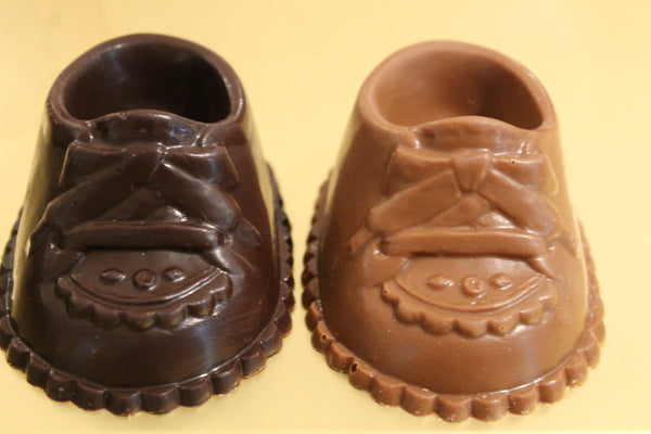 Chocolate Baby Shoes