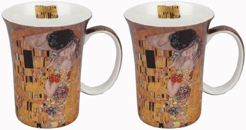 Klimt The Kiss Tea Mug Set Of 2