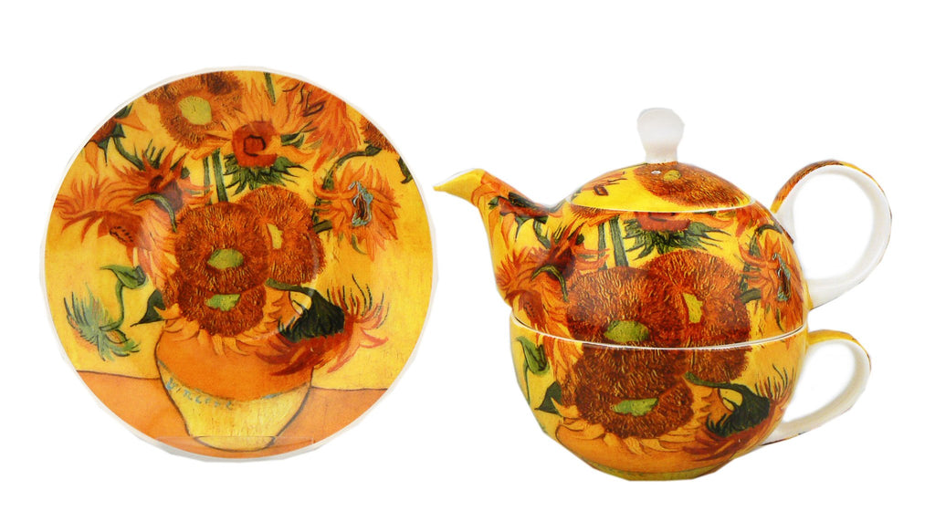 Van Gogh Sunflower Tea