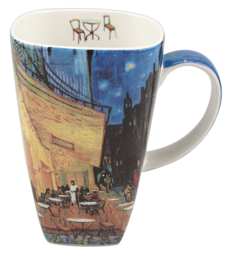 Van Gogh Cafe Terrance At Night Tea Mug