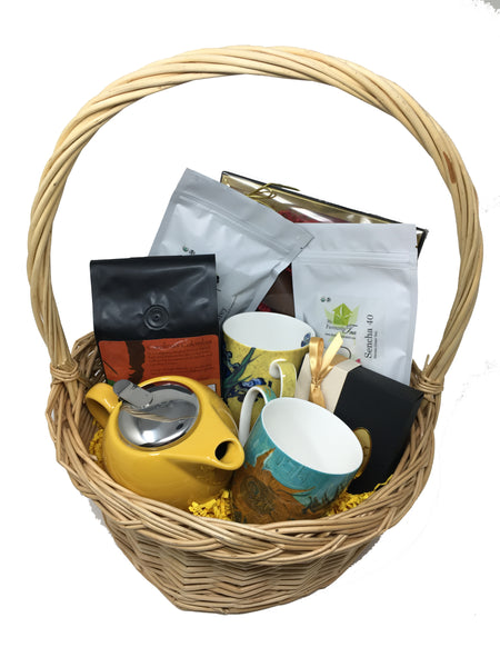 Tea Set Gift Basket